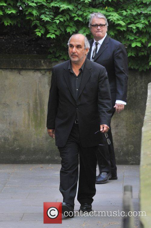 Alan Yentob Sir Clement Freud's funeral held at...