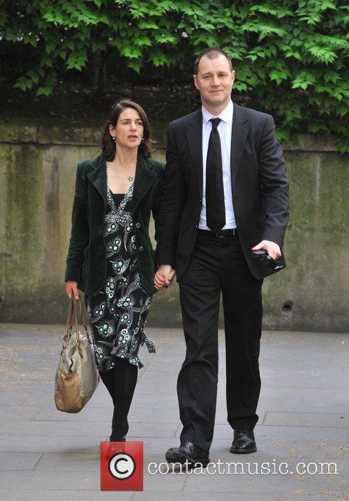 David Morrissey  Sir Clement Freud's funeral held...