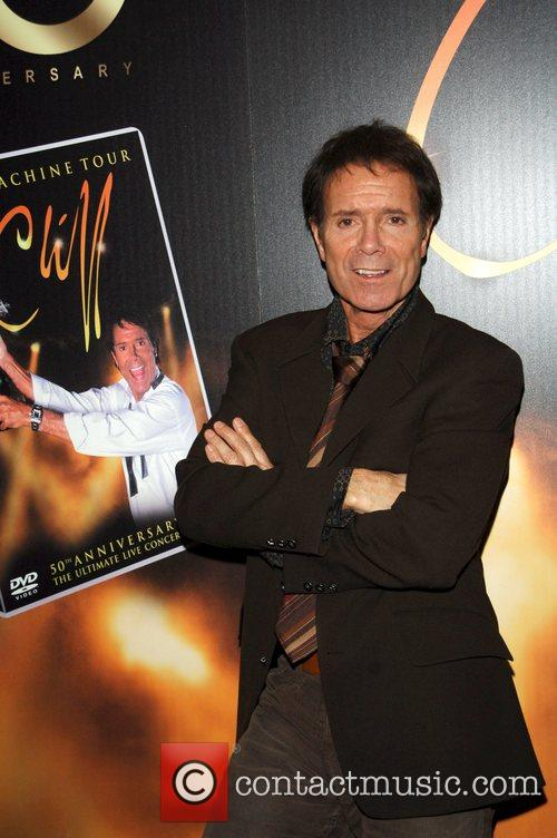 Cliff Richard launches his new DVD 'Time Machine...