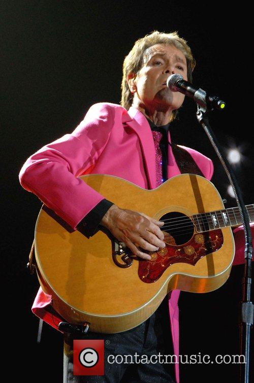 Cliff Richard performs live at the Cardiff International...