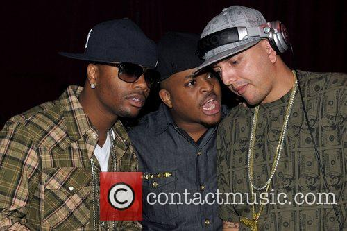 Ron Browz (left) Ron Browz performs at Club...