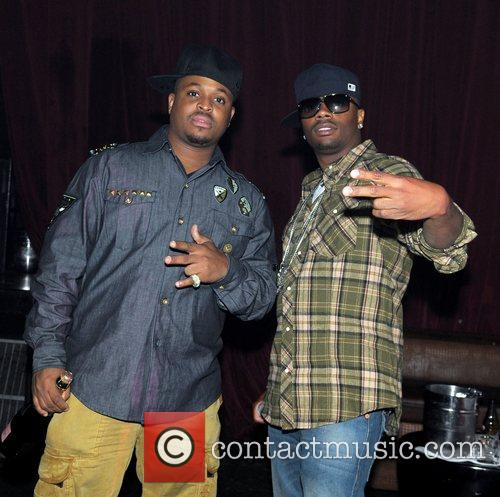 Ron Browz (right) Ron Browz performs at Club...