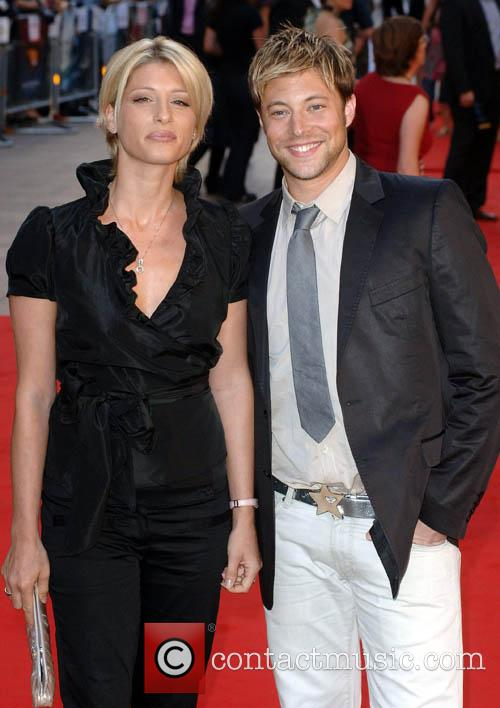 Dani Behr and Duncan James, UK Premiere of...