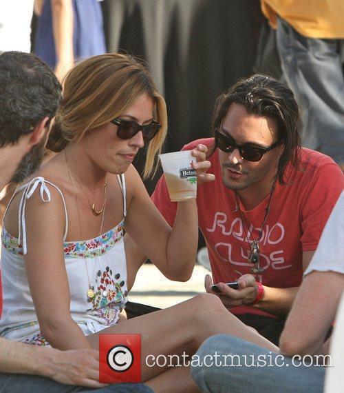 Cat Deeley, Jack Huston, Coachella