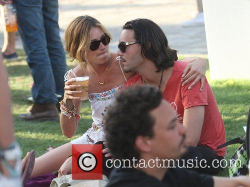 Cat Deeley, Jack Huston, Coachella