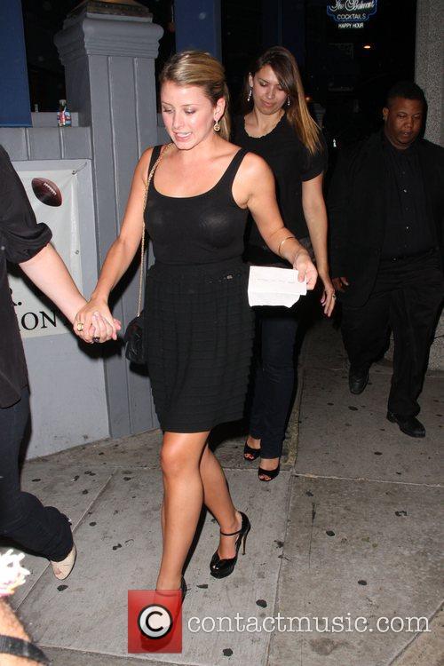 Lauren Bosworth  leaving Coco De Ville after...