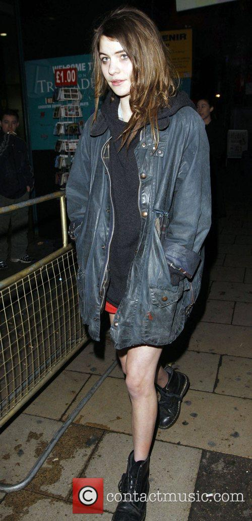 Coco Sumner arriving at a Bar in Piccadilly...