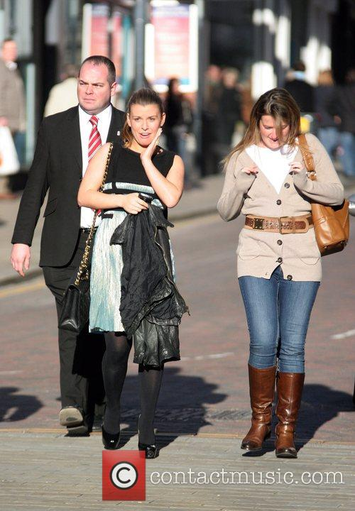 Coleen Rooney arrives for a book signing of...