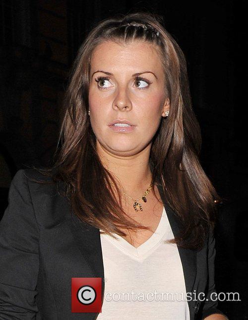 Coleen Rooney Arriving At Her Hotel 2