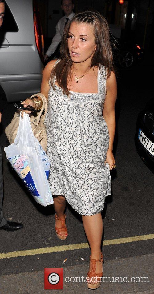 Coleen Rooney Arriving At Her Hotel 4