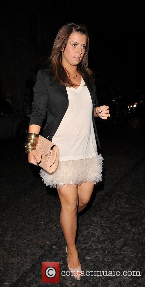 Coleen Rooney Arriving At Her Hotel 3