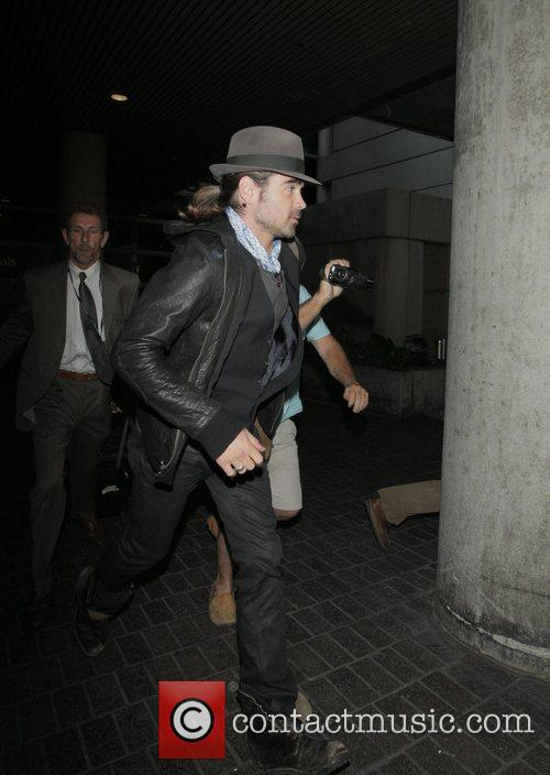 Colin Farrell arrives at LAX airport Los Angeles,...
