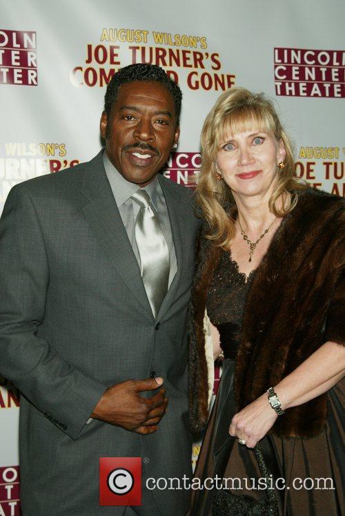 Ernie Hudson and his wife Linda Kingsberg-Hudson Opening...