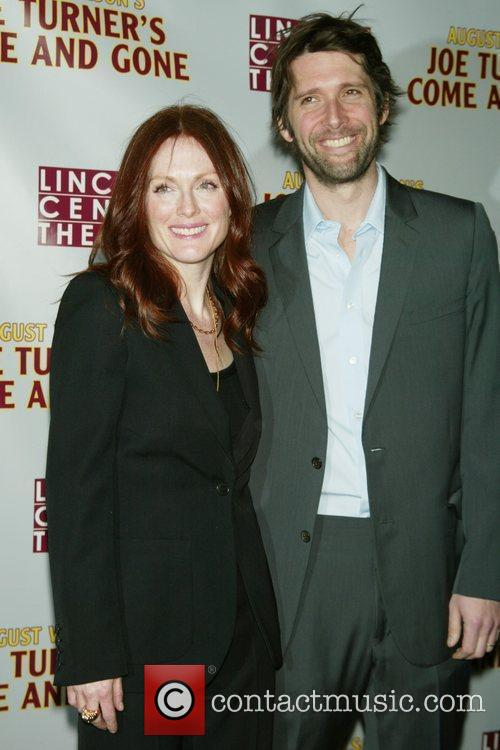 Julianne Moore and her husband Bart Freundlich 1