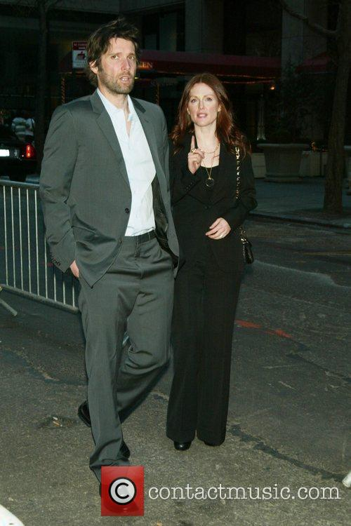 Julianne Moore, her husband Bart Freundlich