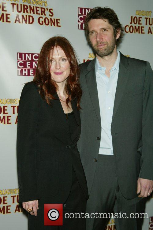 Julianne Moore and her husband Bart Freundlich 3