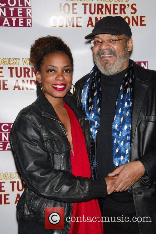 Aunjanue Ellis and Roger Robinson 2