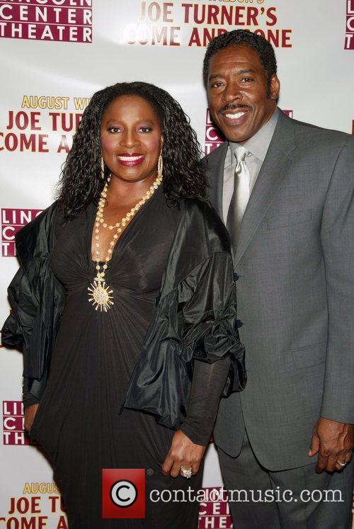LaTanya Richardson Jackson and Ernie Hudson Opening night...