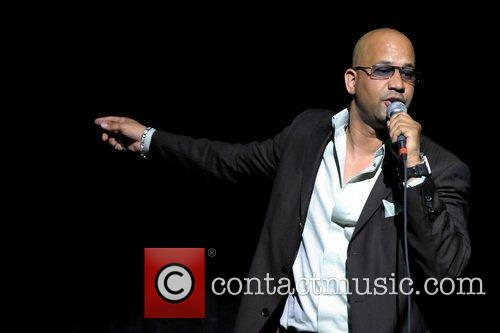 Comedian Pierre performs live during the 2nd Annual...