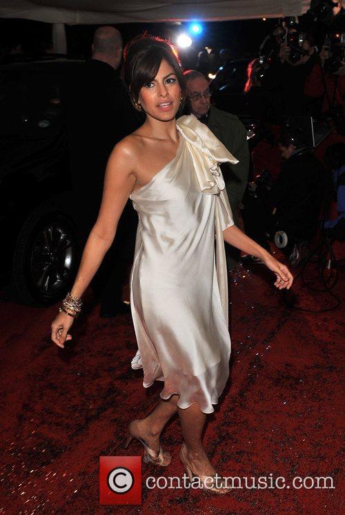Eva Mendes British Comedy Awards held at the...