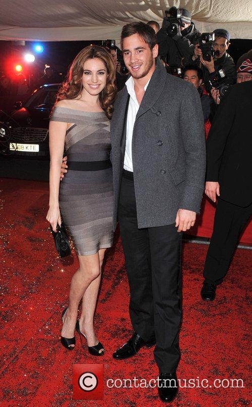Kelly Brook and Danny Cipriani British Comedy Awards...
