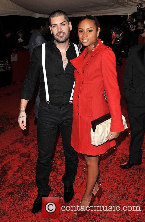 Shane Lynch and guest British Comedy Awards held...