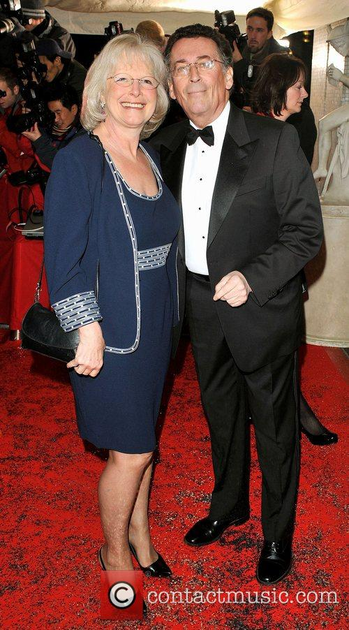 Guest and Robert Powell  British Comedy Awards...
