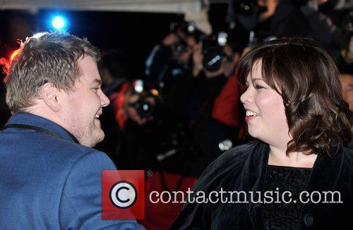 James Corden and Katy Brand British Comedy Awards...