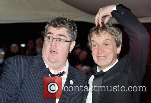 Phil Jupitus and Frank Skinner British Comedy Awards...