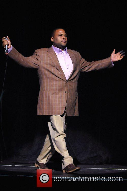 Performs during the 2nd Annual Memorial Weekend Comedy...