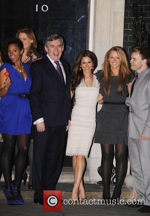 Alysha Dixon, Gordon Brown, Cheryl Cole, Kimberly Walsh...