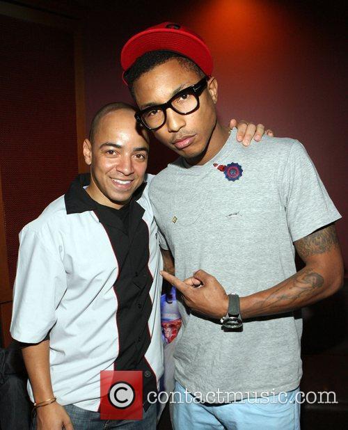 Derek Dudley, Pharrell Williams Common hosts the 'Start...