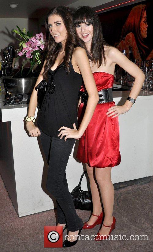 Hannah Devane, Amy Coughlan attend the Compton Model...