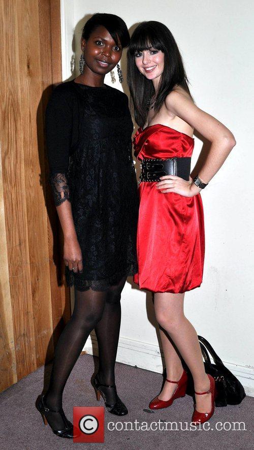Lynn Pagy, Amy Coughlan attend the Compton Model...