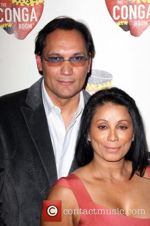 Jimmy Smits and Wanda De Jesus 1