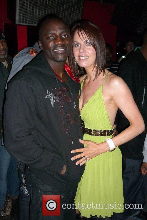 Akon and Dawn Redmond 1