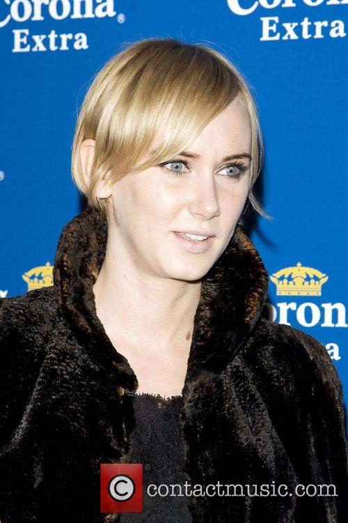 Kimberly Stewart Corona Beach Tour Party - Arrivals...