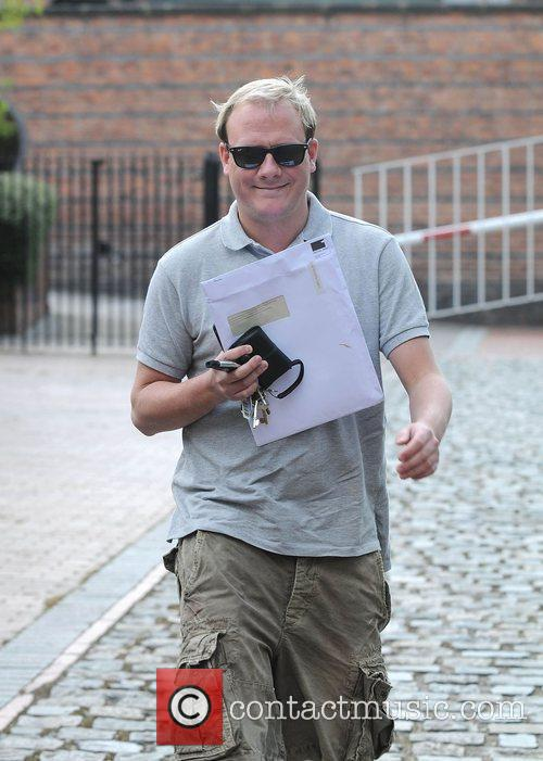 Antony Cotton, who plays Sean Tully The cast...