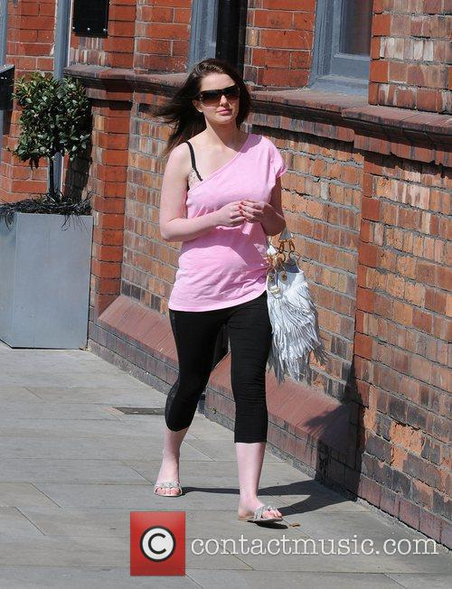 Helen Flanagan, who plays Rosie Webster The cast...