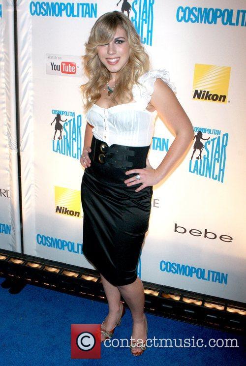 Alexa Wilkinson attends Cosmopolitan magazine's Starlaunch concert held...