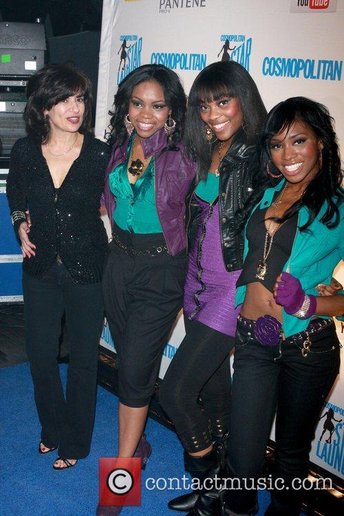 Donna Kalajian Lagani and girlband Fortune attend Cosmopolitan...