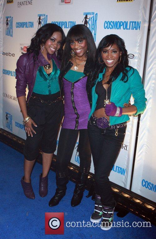 Fortune attend Cosmopolitan magazine's Starlaunch concert held at...