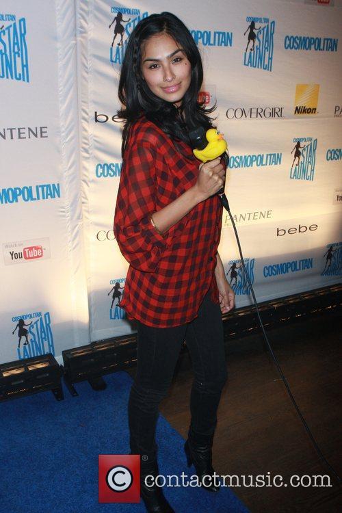 Nancy Gomez attends Cosmopolitan magazine's Starlaunch concert held...