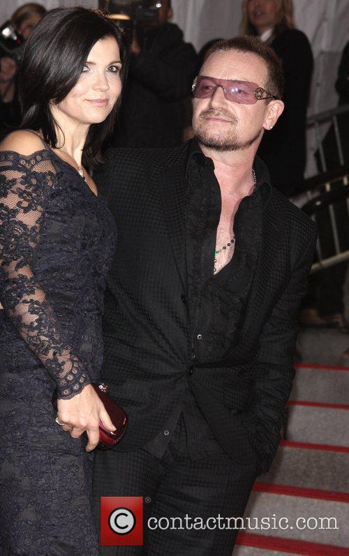 Ali Hewson with husband Bono 'The Model As...