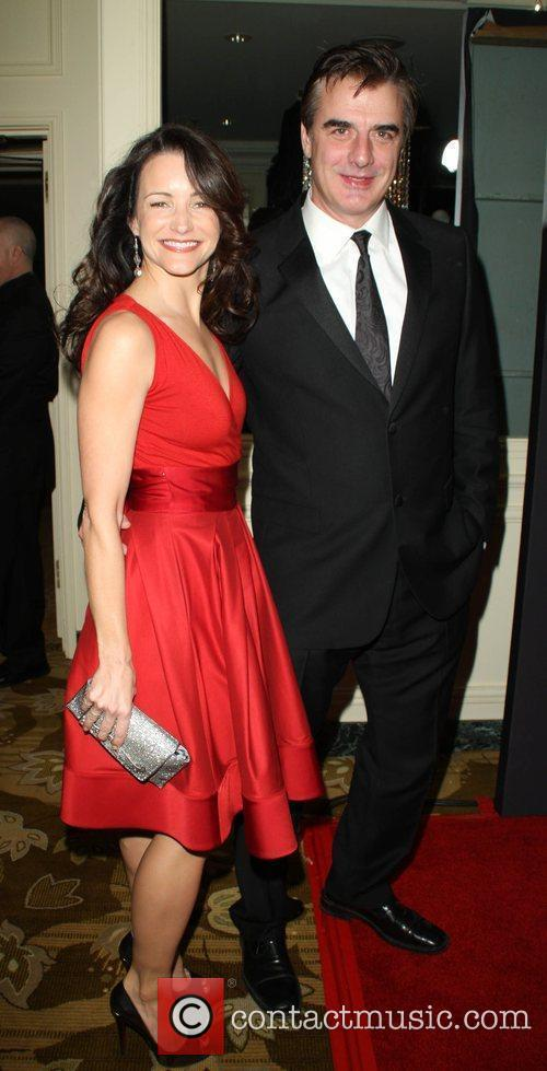 Kristin Davis and Chris Noth 5