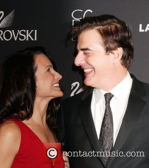 Kristin Davis and Chris Noth 9
