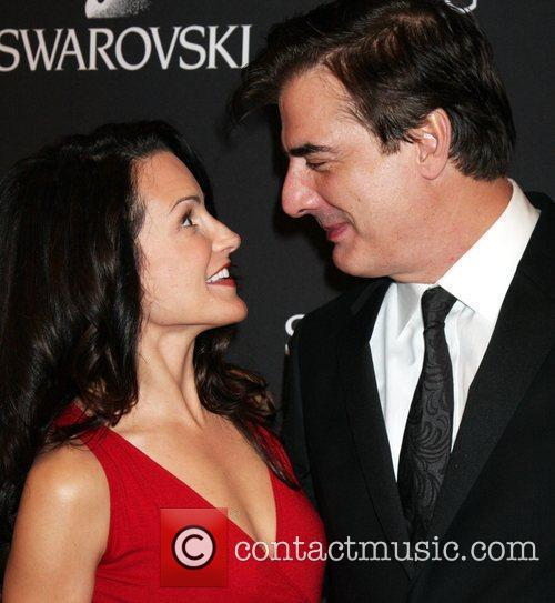 Kristin Davis and Chris Noth 1
