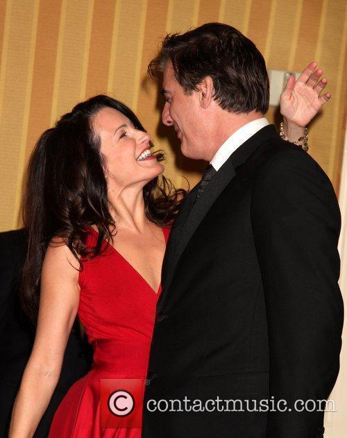 Kristin Davis and Chris Noth 8