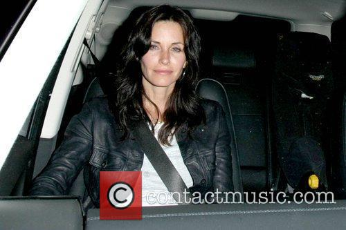 Courteney Cox  leaving the STK 1 Year...