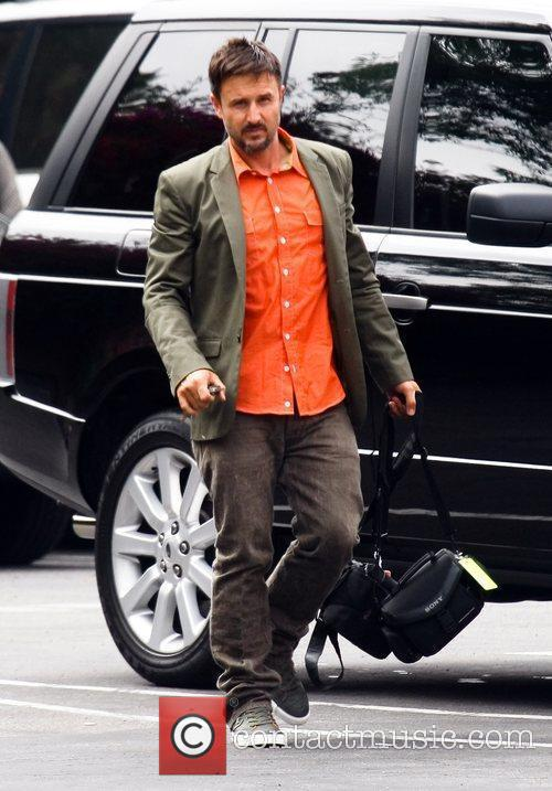 David Arquette takes his daughter to a Ballet...